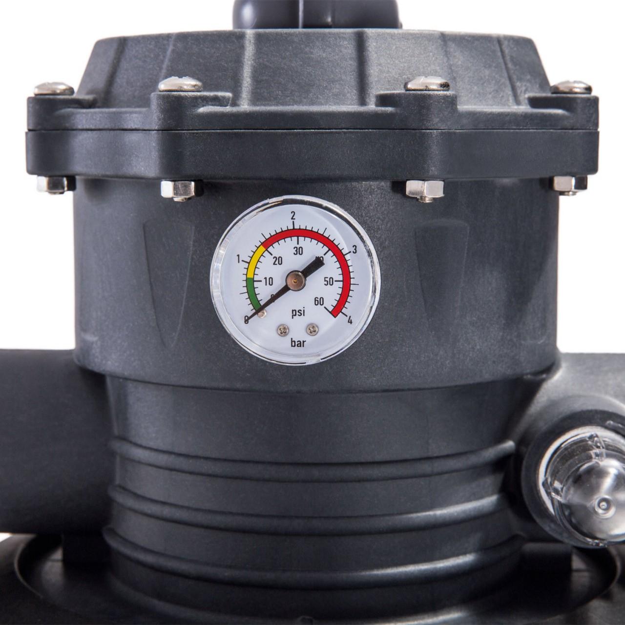 Intex 28652 Sandfilteranlage 12.000 l/h Pool Pumpe Filterpumpe Krystal Clear
