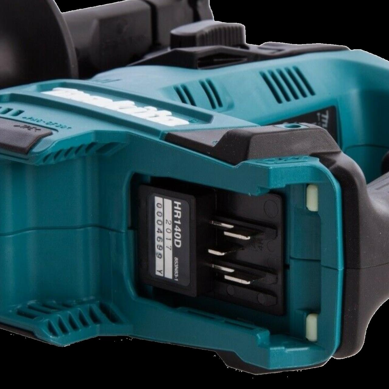 Makita HR140DSMJ Akku-Bohrhammer 12V max. inkl. 2 x Akku, Ladegerät, MAKPAC Gr. 2 inkl. Einlage