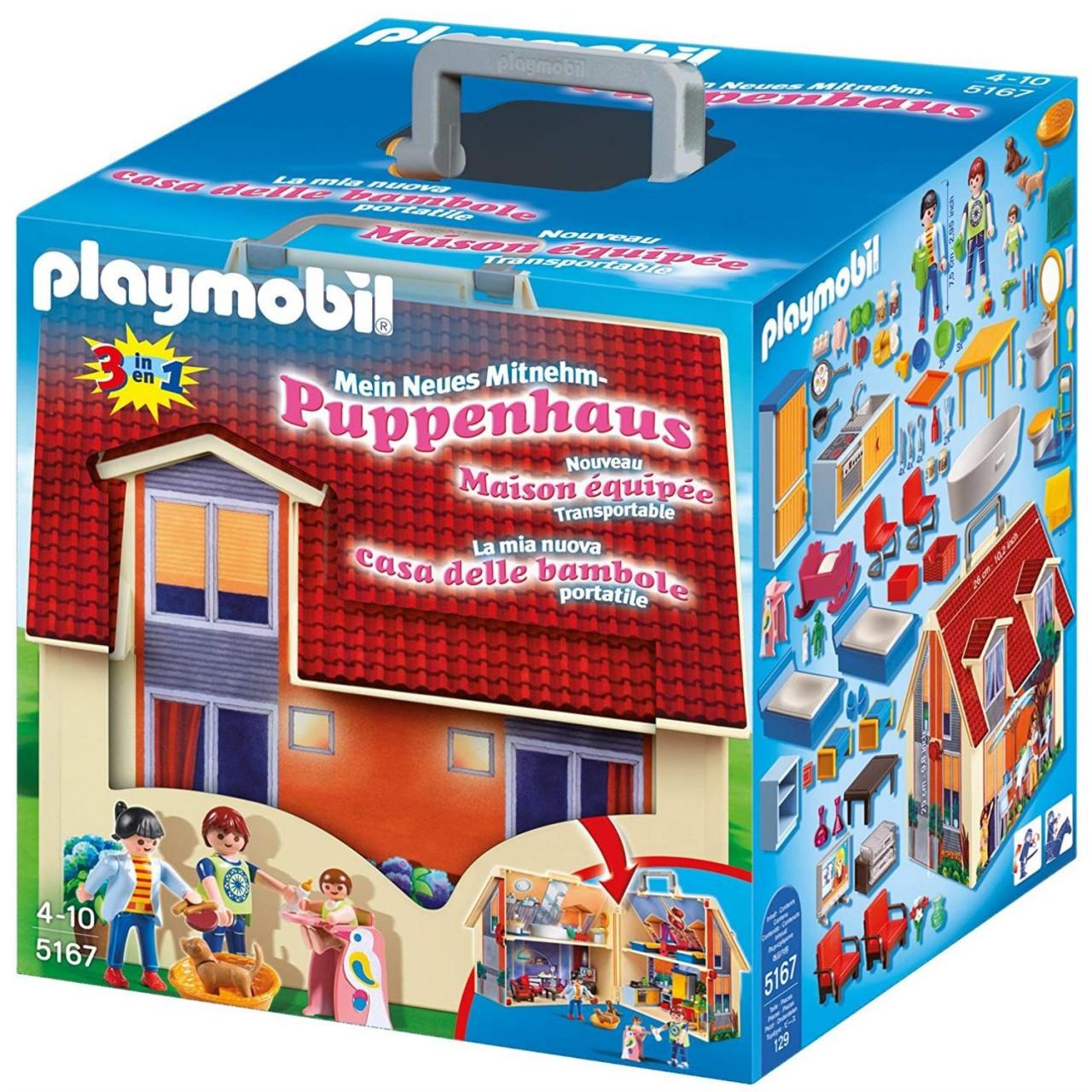 Playmobil 5167 Mein Neues Mitnehm-Puppenhaus