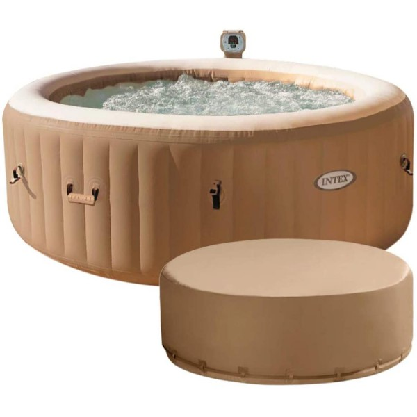 Intex 28474 Whirlpool Pure SPA Bubble Massage 196x71cm aufblasbar 4 Personen