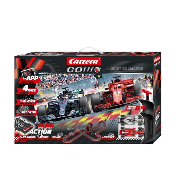 Carrera GO!!! Plus 20066010 Keep on Racing