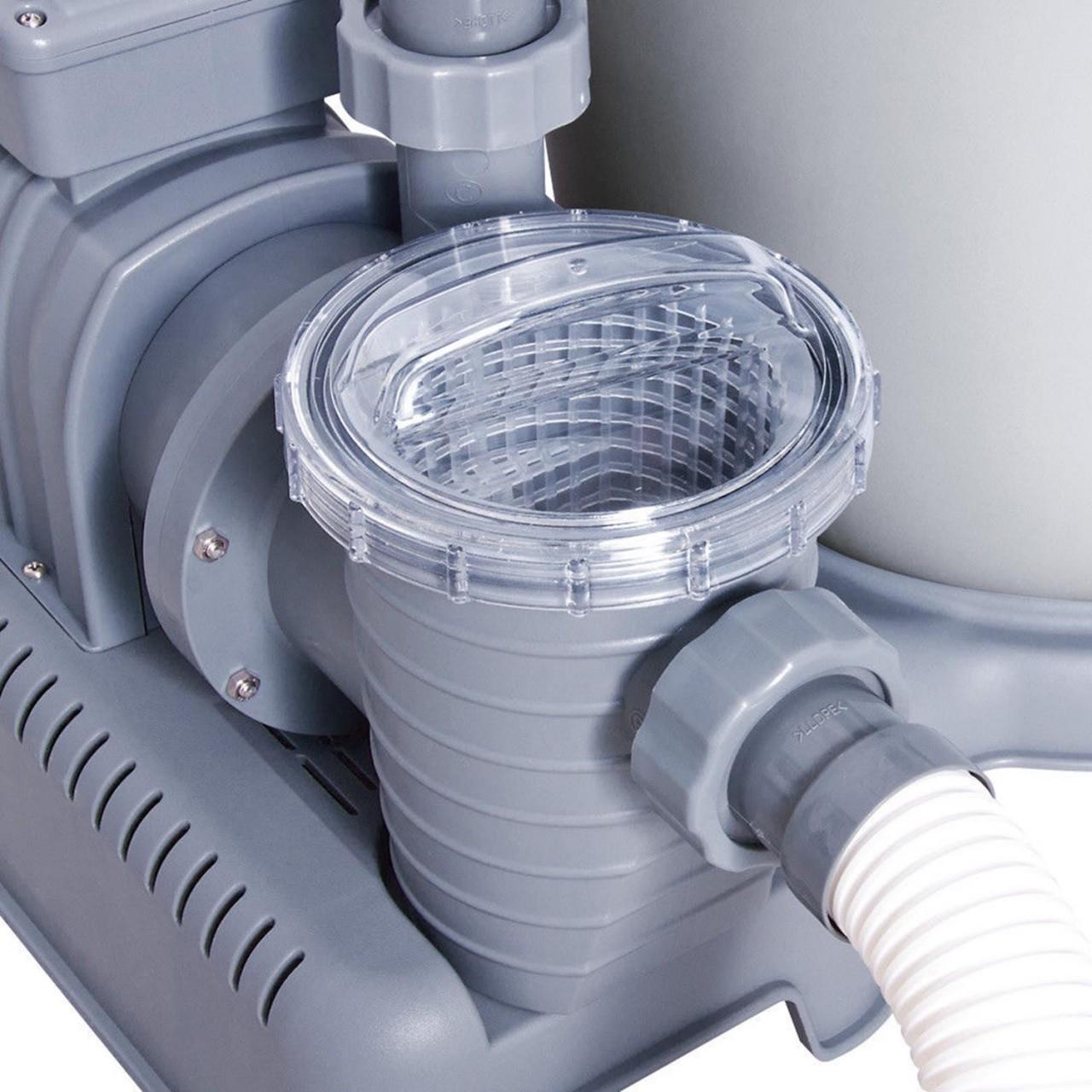 Bestway 58404 Sandfilterpumpe Schwimmbad Filteranlage Flowclear Pumpe 5.678 l/h