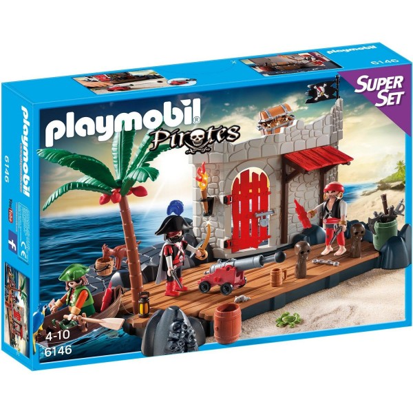 PLAYMOBIL 6146 Super Set Piratenfestung Piraten Neu & OVP