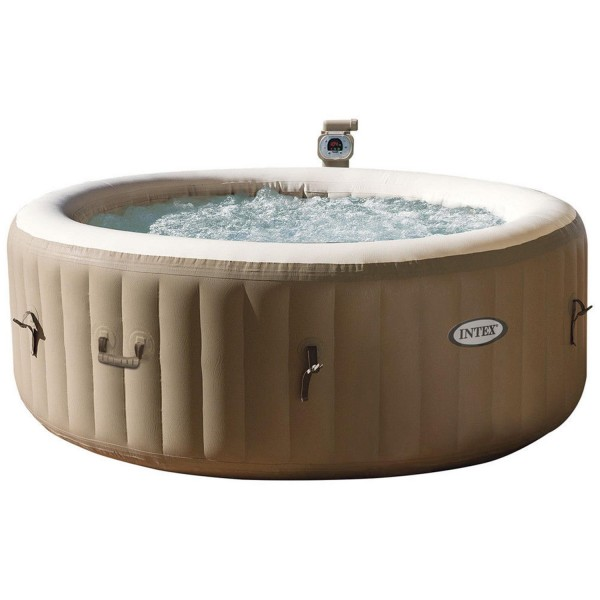 Intex 28408 Whirlpool Pure Spa Jacuzzi Heizung Spa Pool 216X71 cm 4 Personen