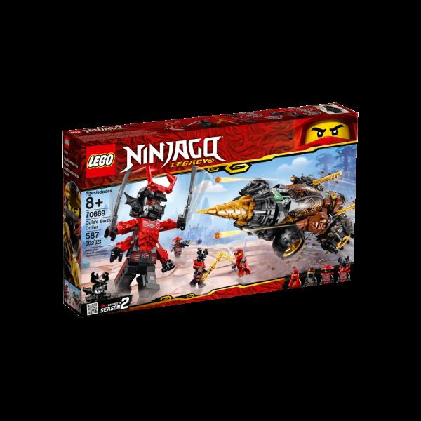 LEGO NINJAGO 70669 Coles Powerbohrer