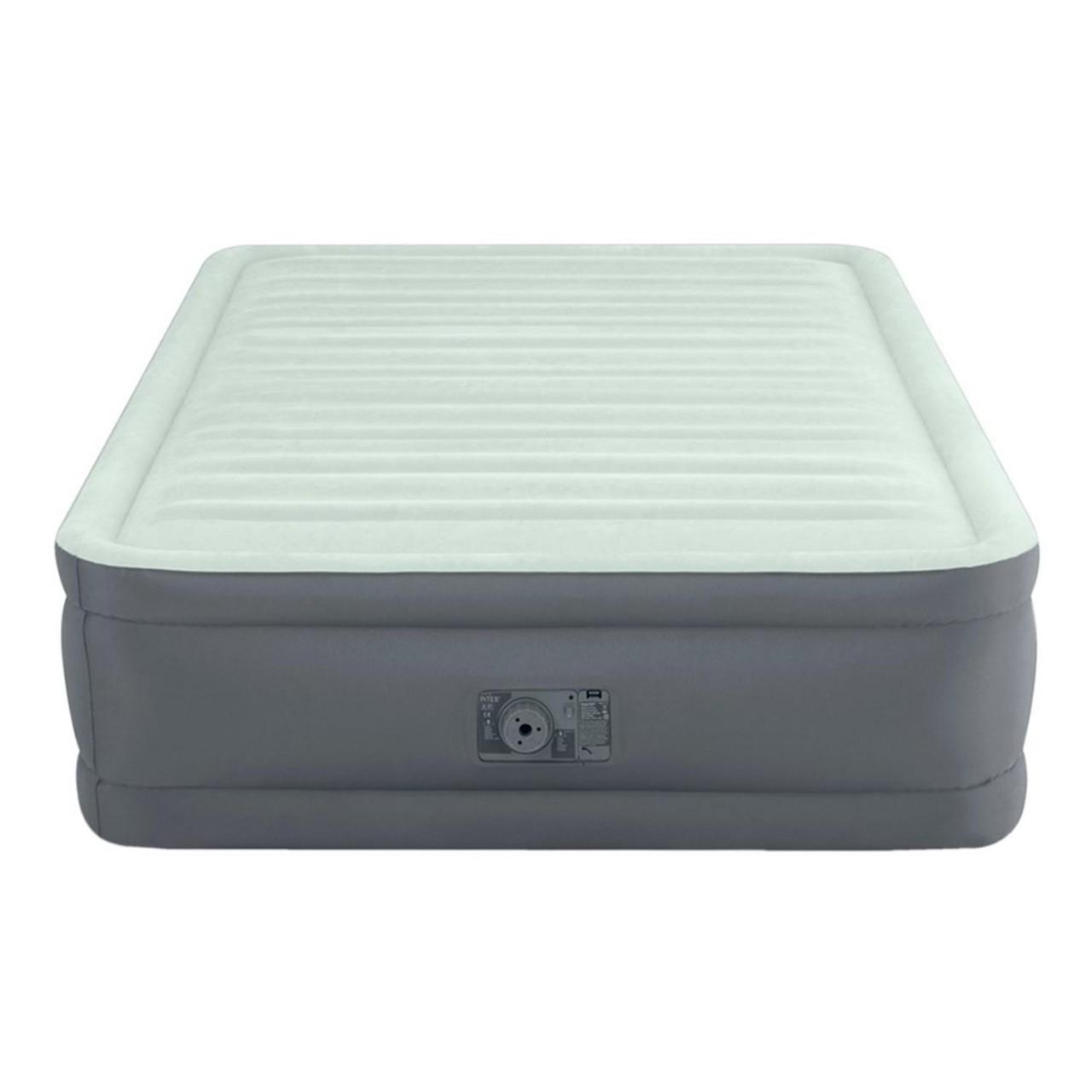 Intex Luftbett mit Pumpe PremAire Gästebett 191x137x46cm selbstaufblasend 64904