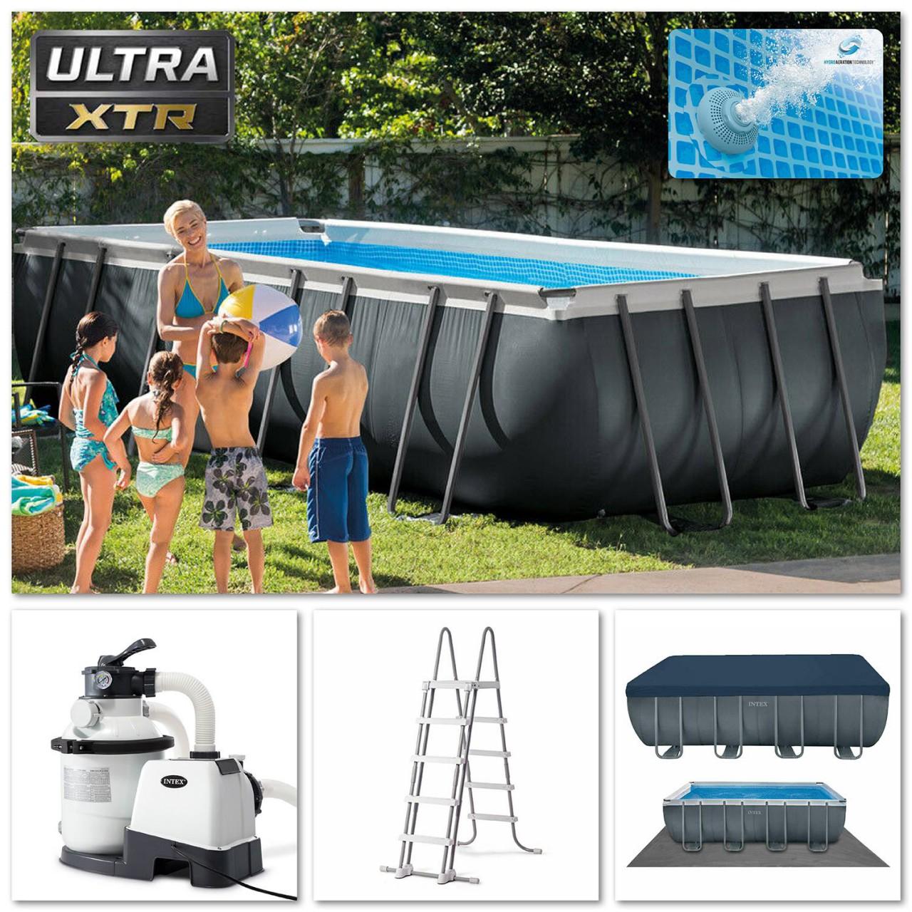 Intex Swimmingpool XTR Ultra Frame Pool Set 549 x 274 x 132 cm 26356