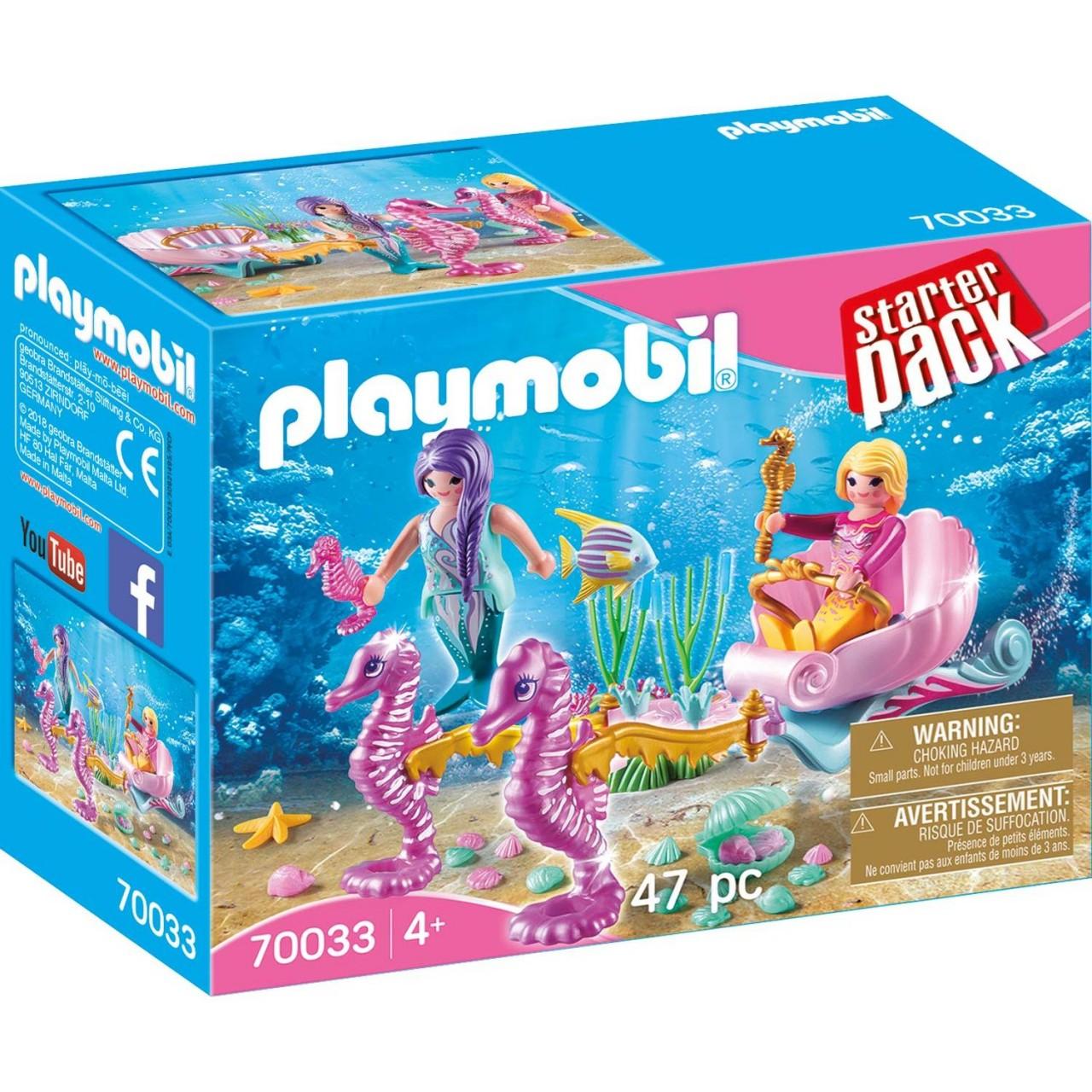 Playmobil 70033 StarterPack Seepferdchenkutsche