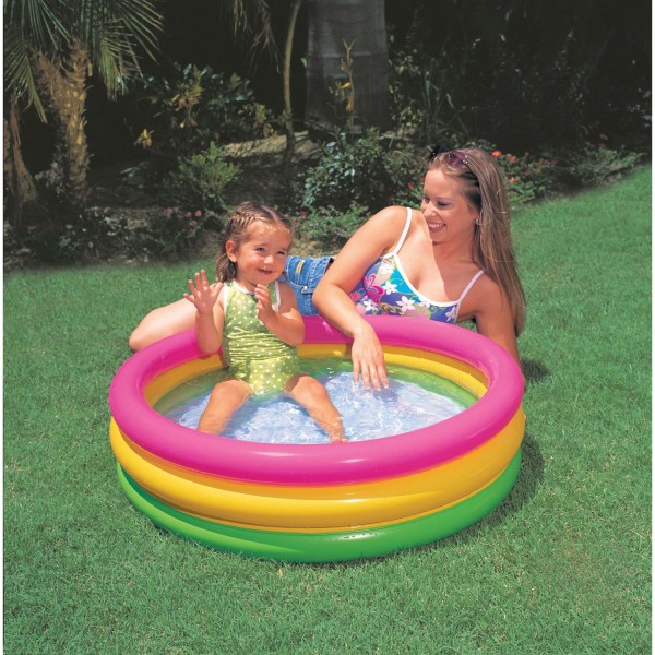 Intex 58924NP - Baby Pool 3-Ring Sunset Glow
