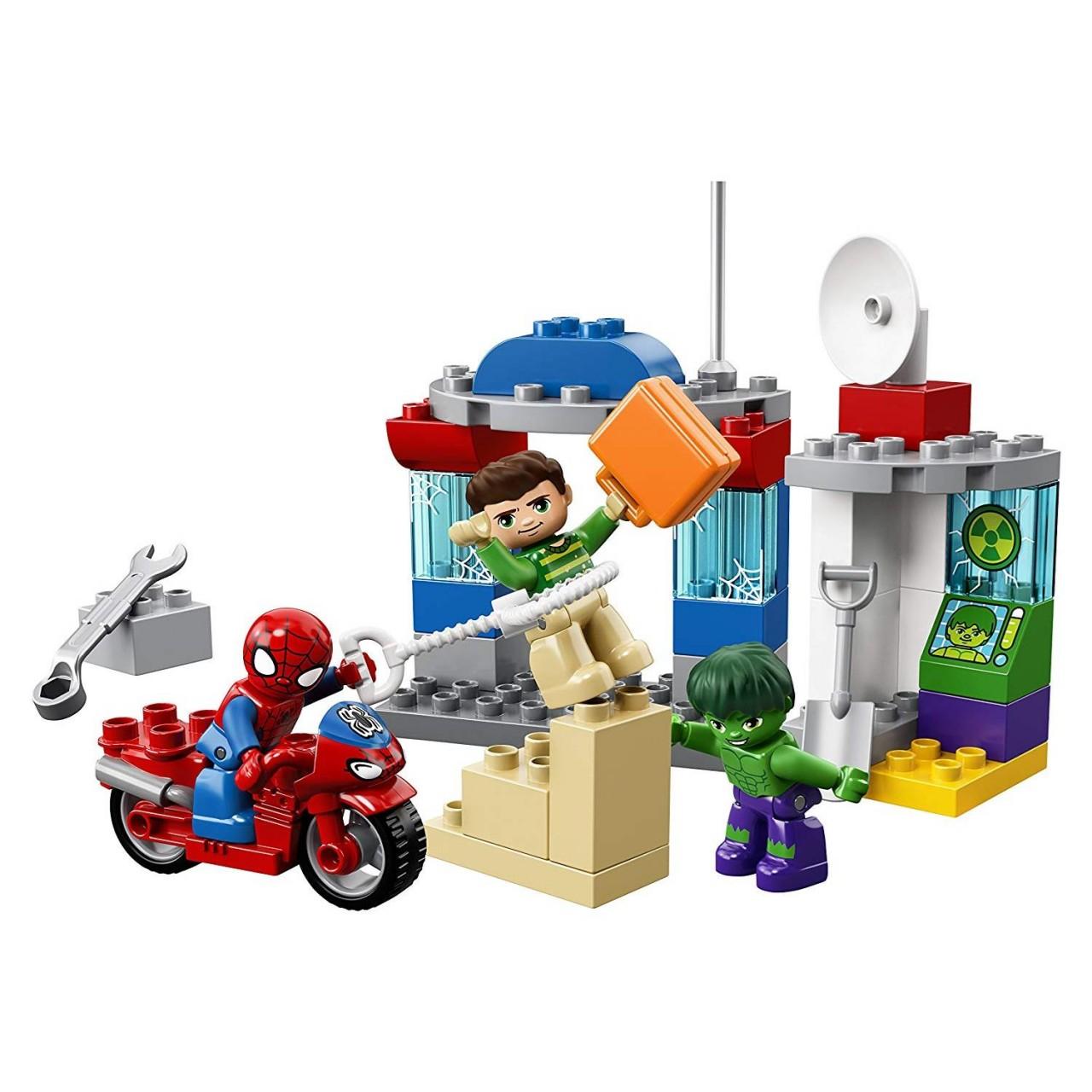 LEGO DUPLO 10876 Die Abenteuer von Spider-Man und Hulk