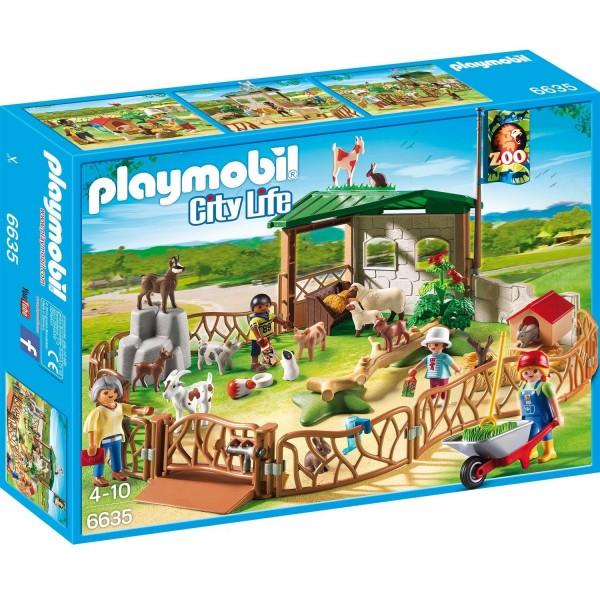 PLAYMOBIL 6635 Streichelzoo Tierpark Tiere Neu & OVP