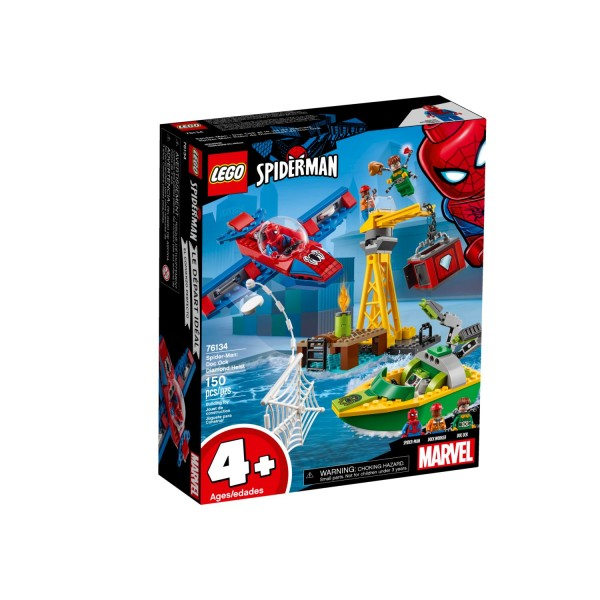 LEGO MARVEL SUPER HEROES 76134 Spider-Man Diamantenraub mit Doc Ock