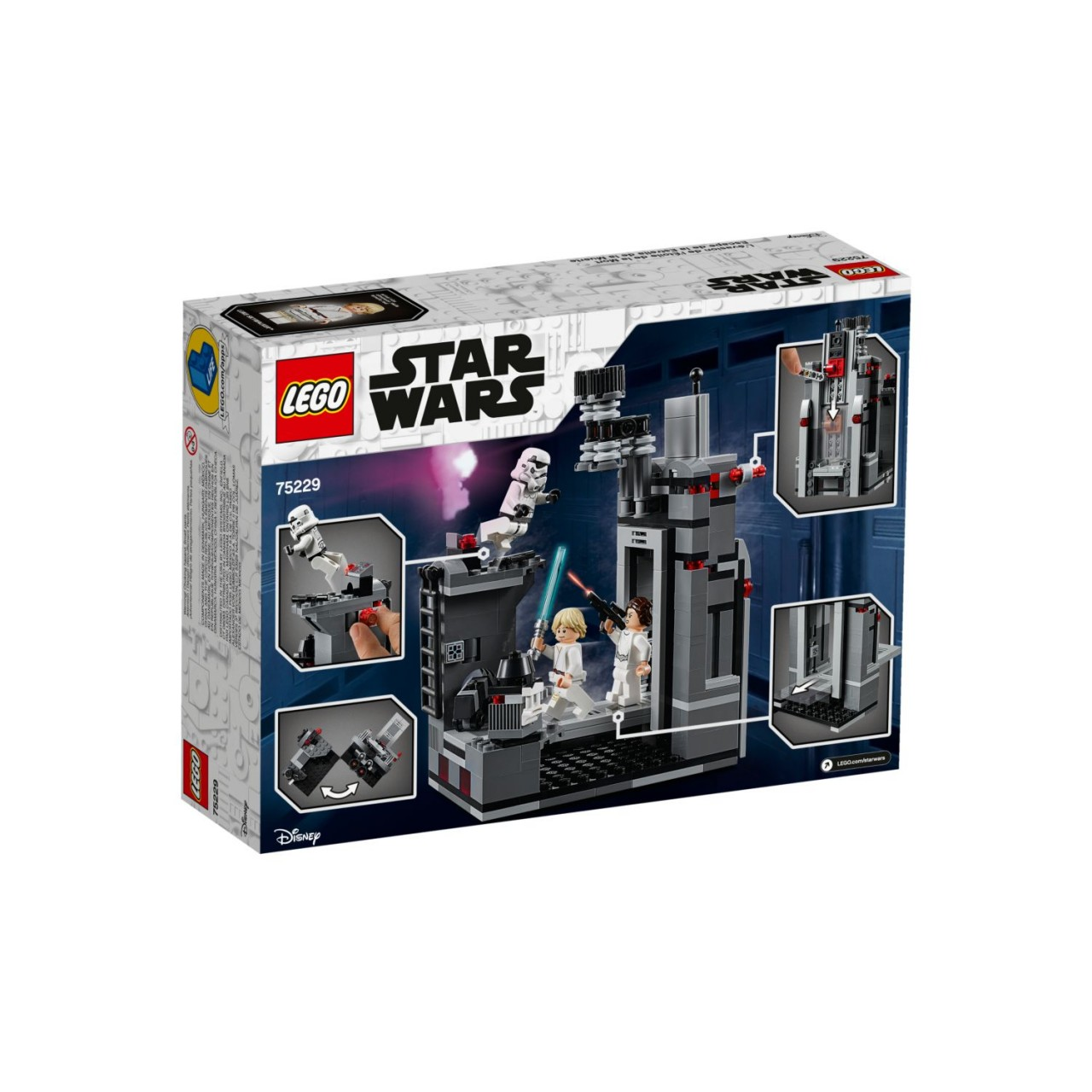 LEGO STAR WARS 75229 Flucht vom Todesstern