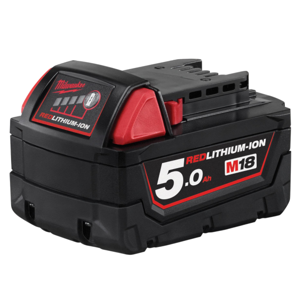 Milwaukee M18 B5 Akku 18V 5.0 AH Red Lithium