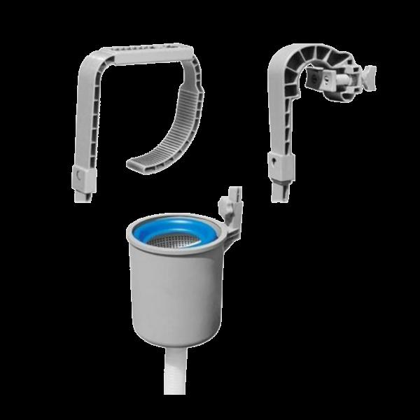 Bestway 58233 Oberflächenskimmer Pool Skimmer Reinigung Filter Multi Aufhängung