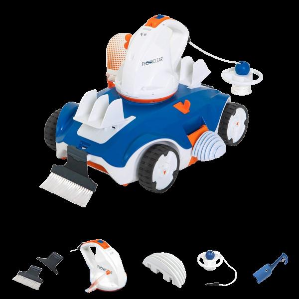 Bestway Flowclear akkubetriebener Poolsauger Aquatronix Vacuum Roboter 58482