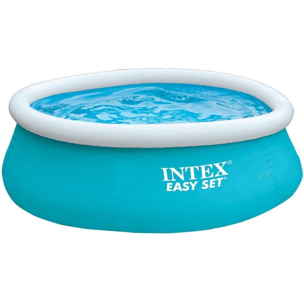 Intex Aufstellpool Easy-Pool Set, blau, Ø 183 x 51 cm