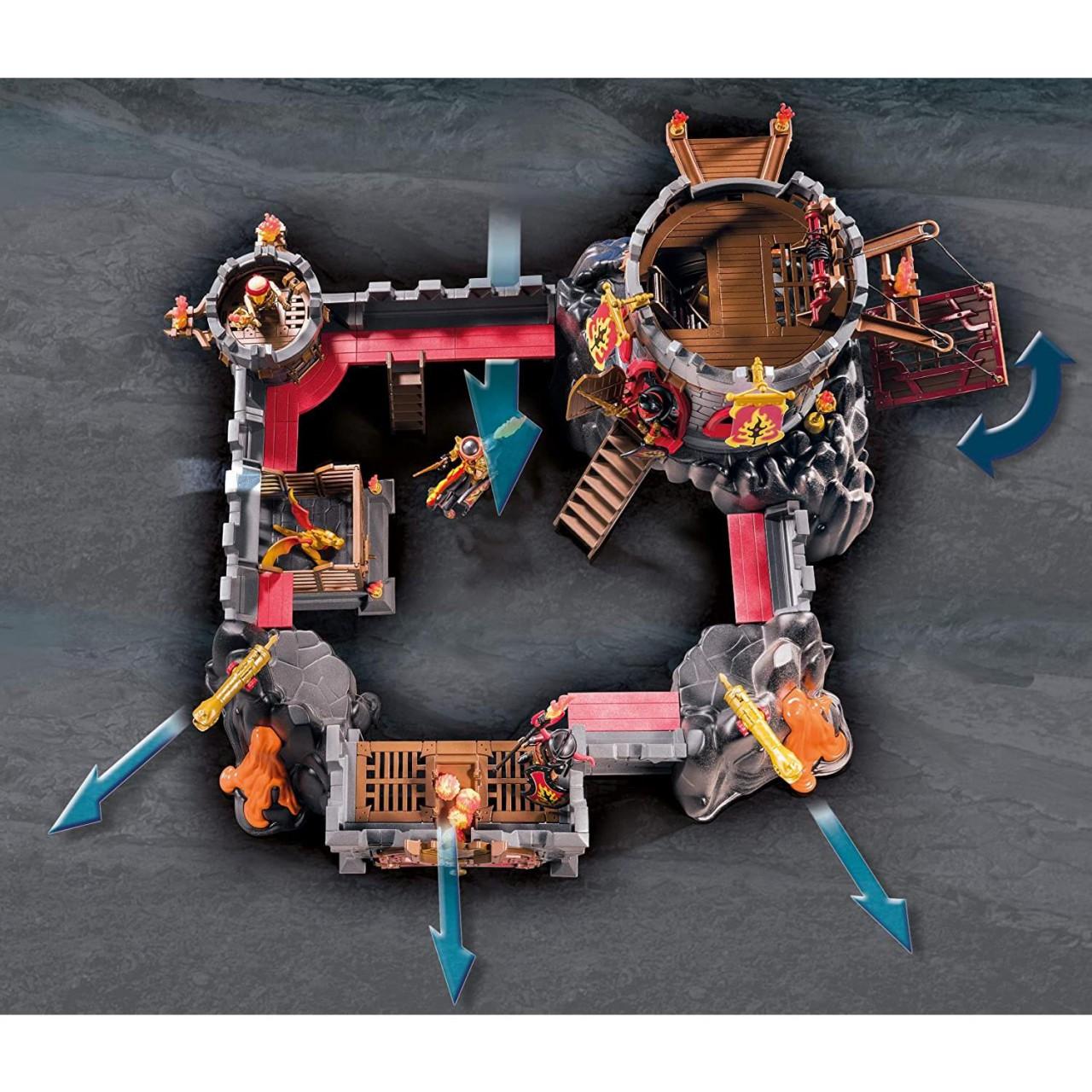 Playmobil 70221 Festung der Burnham Raiders