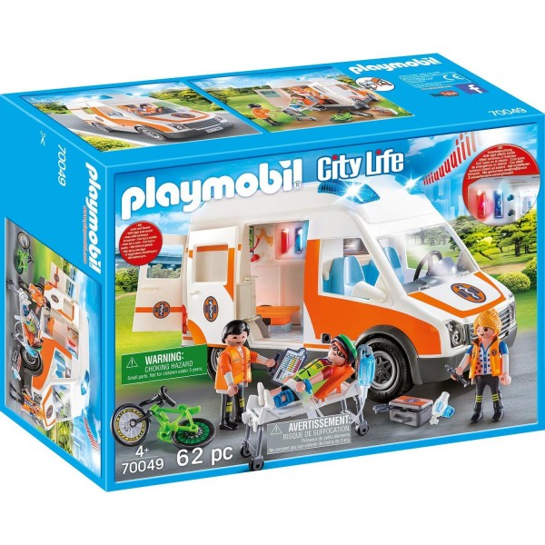 Playmobil 70049 Rettungswagen mit Licht und Sound