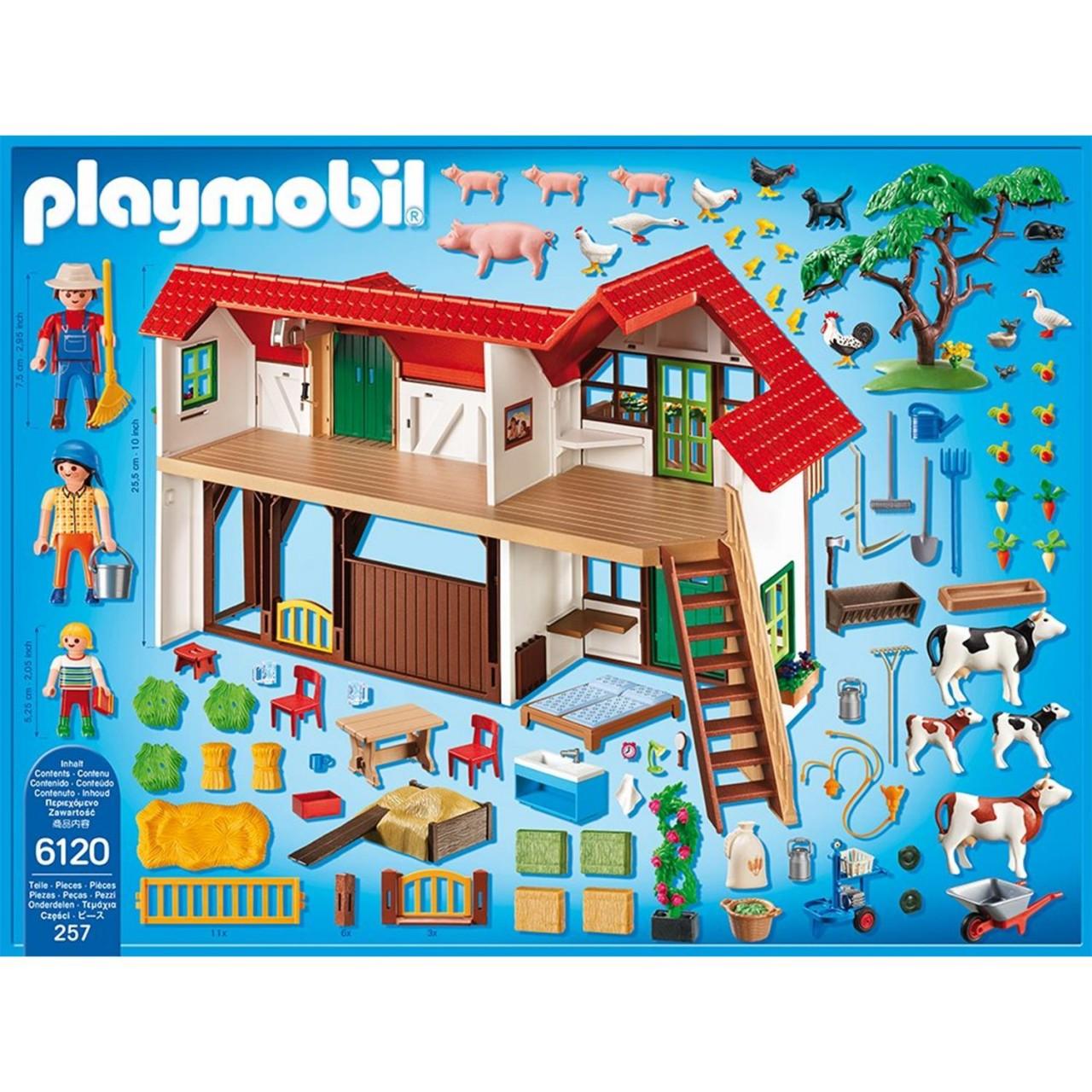 Playmobil 6120 Großer Bauernhof