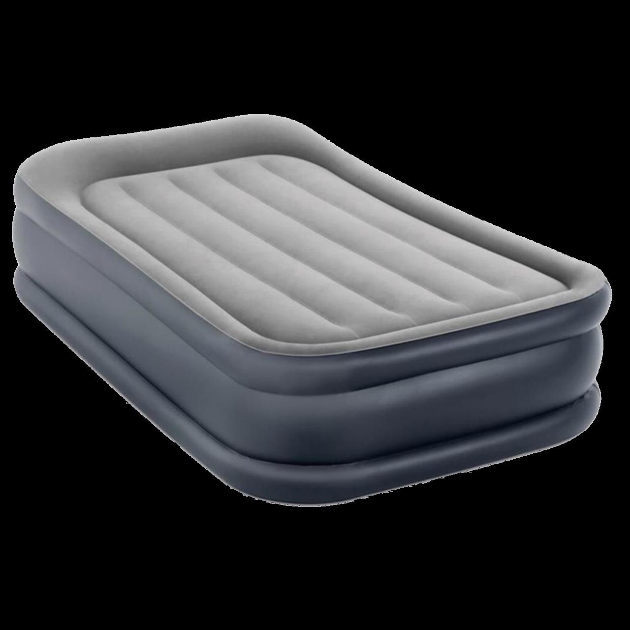 Intex Luftbett mit Pumpe Gästebett Luftmatratze 191x99x42cm selbstaufblasend