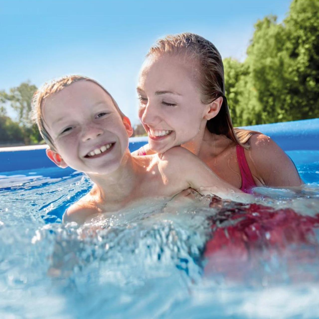 Intex 28118 Easy Set Swimming Pool Ø305x61cm Aufstellpool Filterpumpe Rundpool