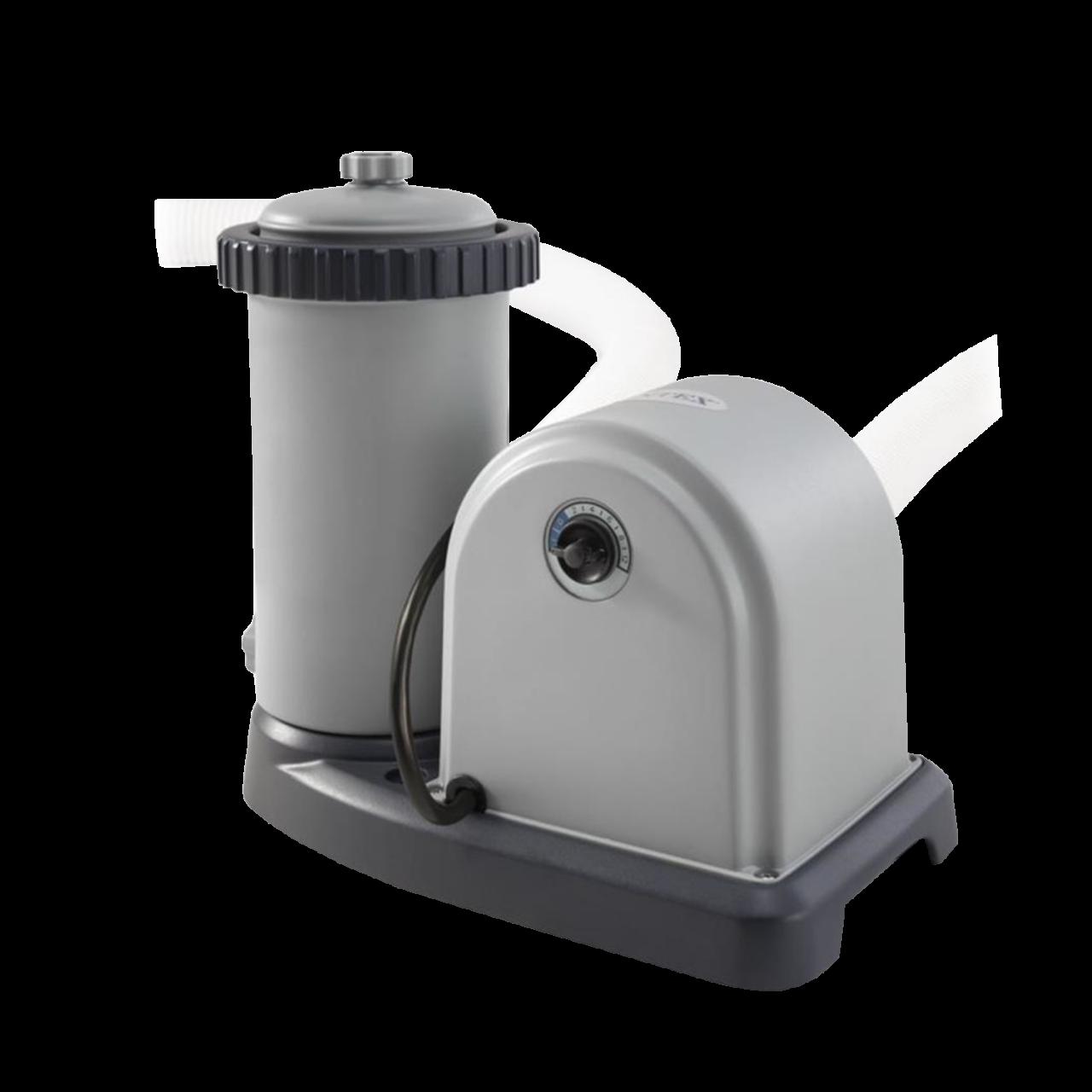 Intex 28636 Pool Filterpumpe 5678 l/h Schwimmbad Pumpe Filteranlage +1 Kartusche