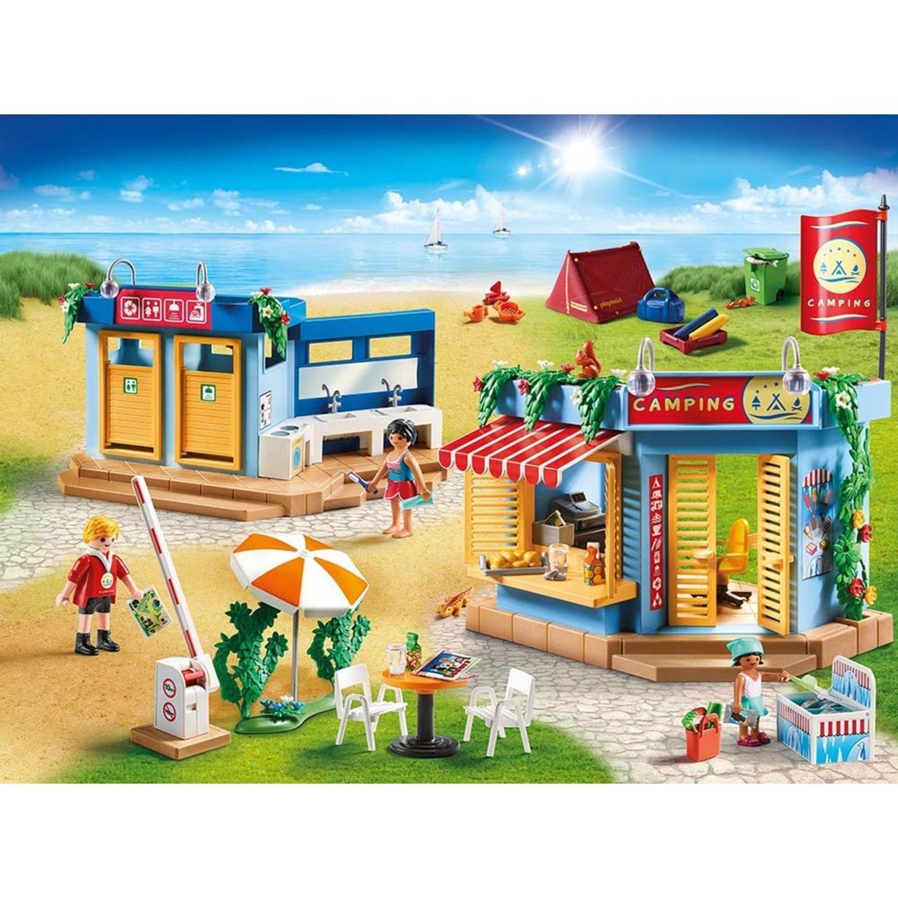 Playmobil 70087 Großer Campingplatz