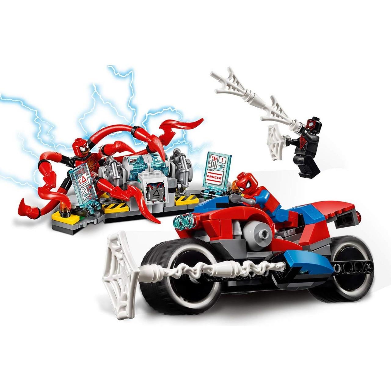 LEGO MARVEL SUPER HEROES 76113 Spider-Man Motorradrettung