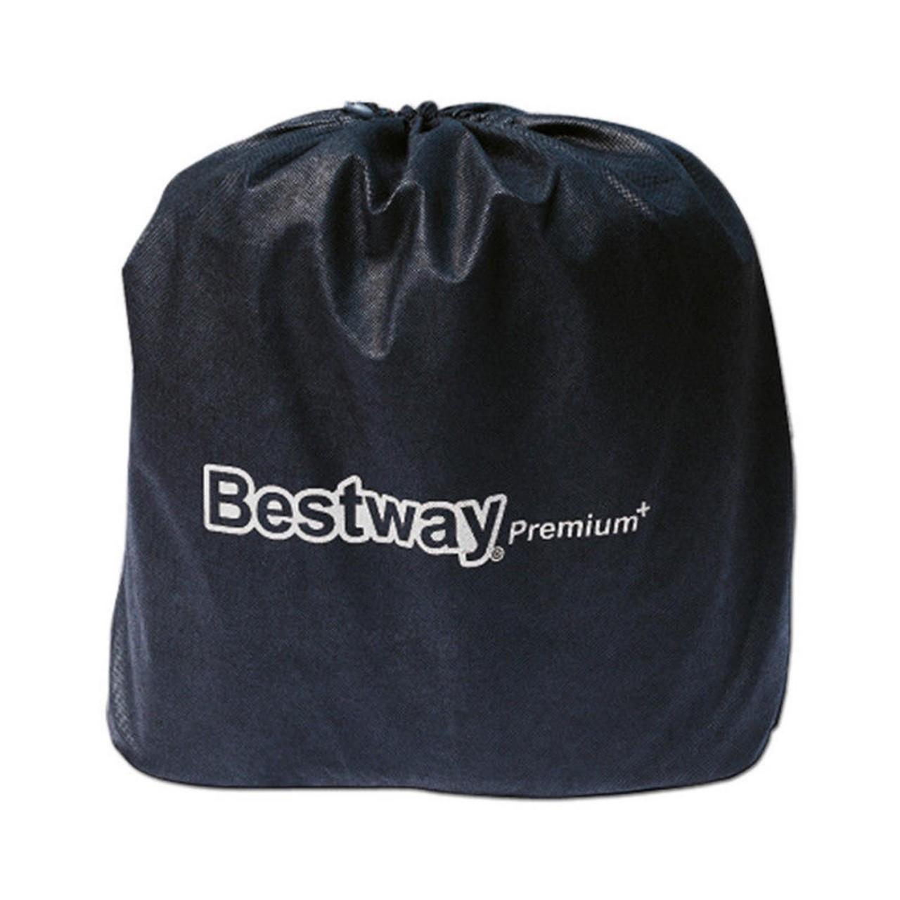 Bestway Luftbett mit Pumpe Gästebett Luftmatratze 191x97x46cm selbstaufblasend