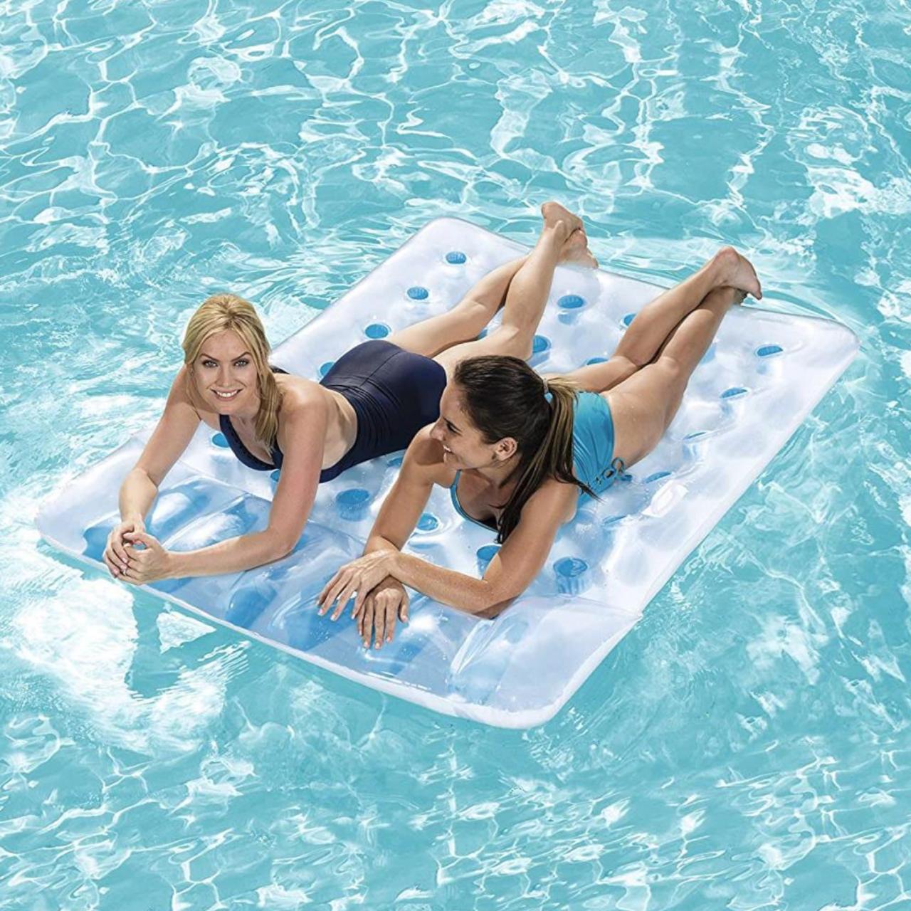 Bestway Doppel Luftmatratze Badeliege Schwimmliege aufblasbar Wasserliege 43055