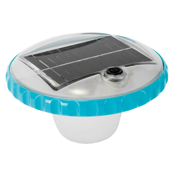 Intex Poolbeleuchtung LED Solar Poollicht Poollampe Schwimmlicht Pool 28695