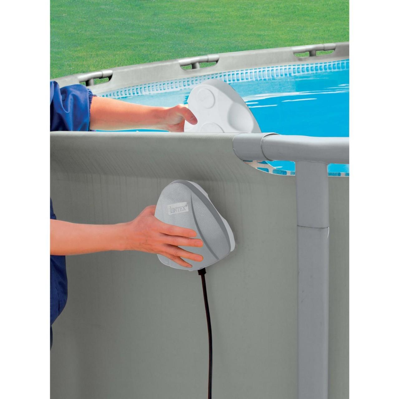 Intex magnetische Poolbeleuchtung LED Pool Licht Schwimmbecken Wandlicht 28688