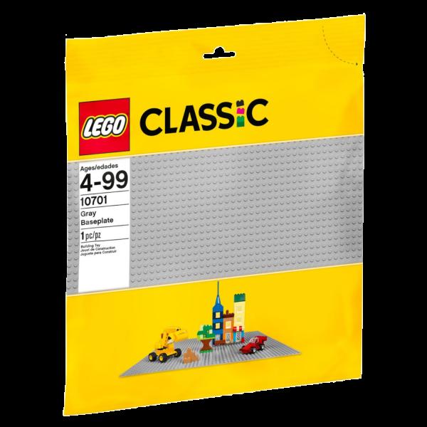 LEGO CLASSIC 10701 Graue Bauplatte