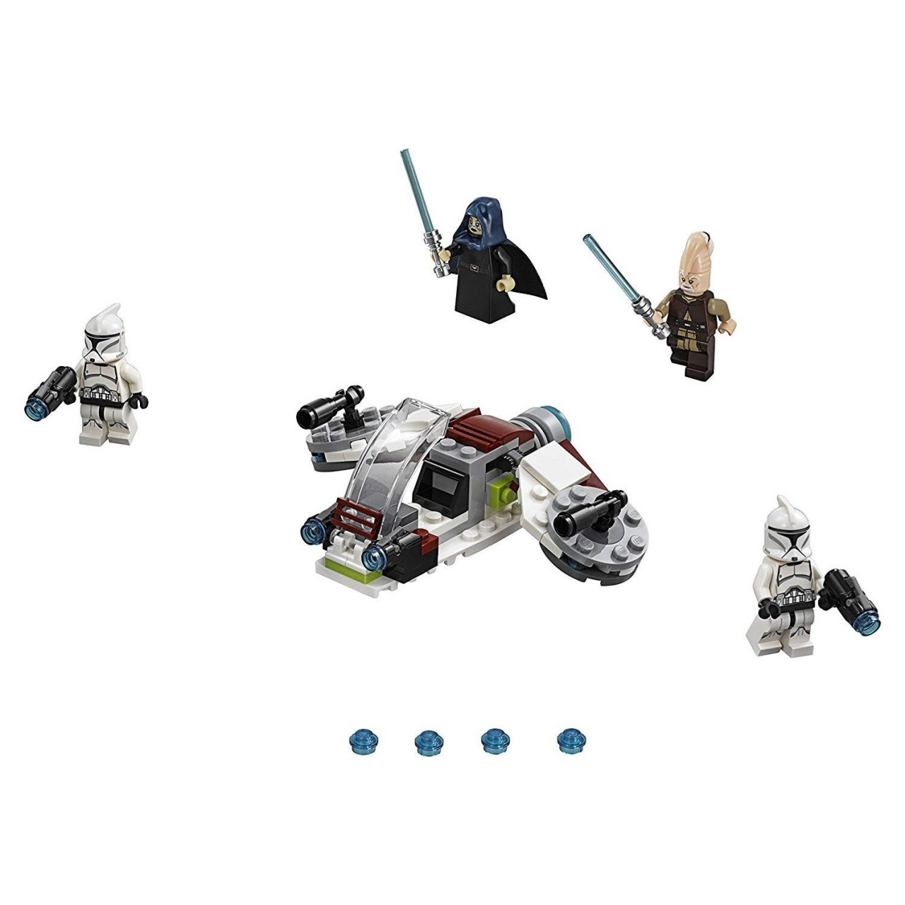 LEGO STAR WARS 75206 Jedi und Clone Troopers Battle Pack
