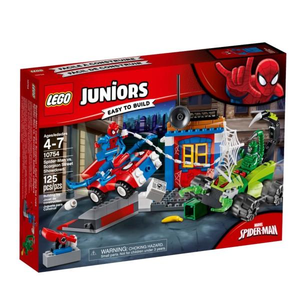 LEGO JUNIORS 10754 Großes Kräftemessen von Spider-Man und Skorpion