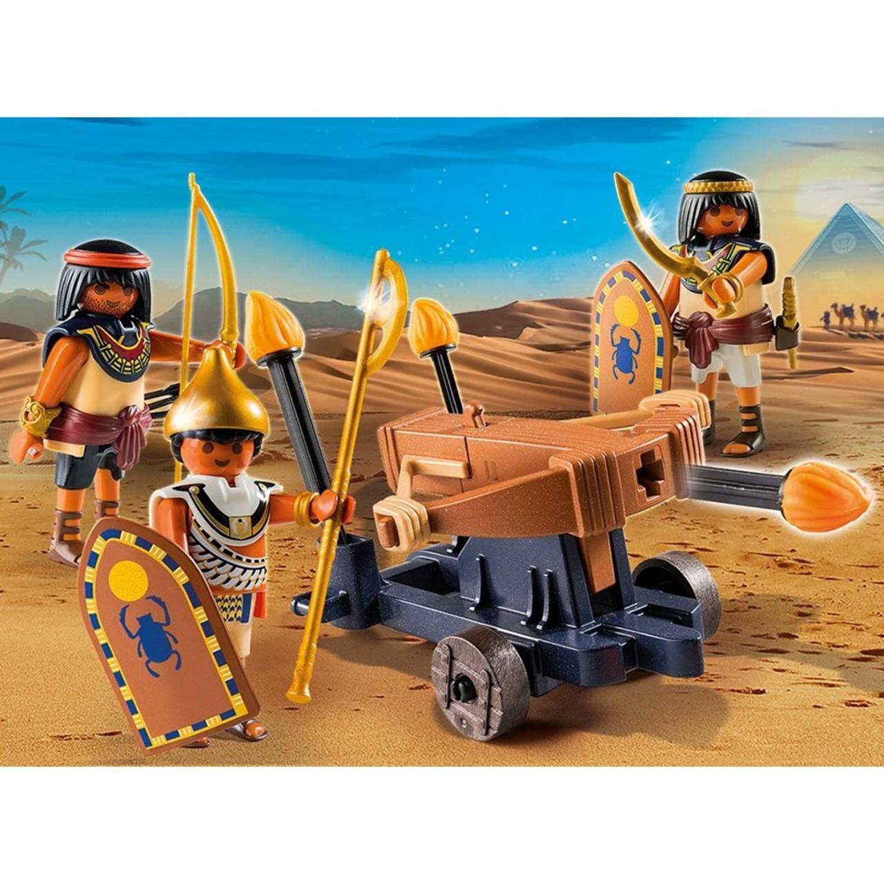 Playmobil 5388 Ägypter mit Feuerballiste