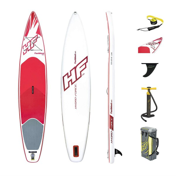 Bestway 65306 Hydro-Force SUP-Board 381x76x15cm Fastblast Tech
