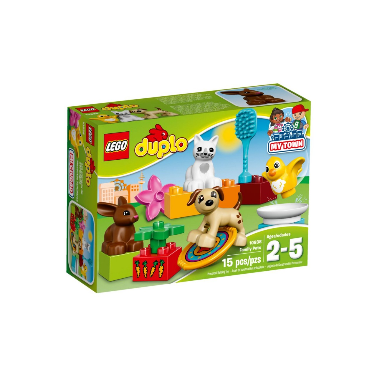 LEGO DUPLO 10838 Haustiere