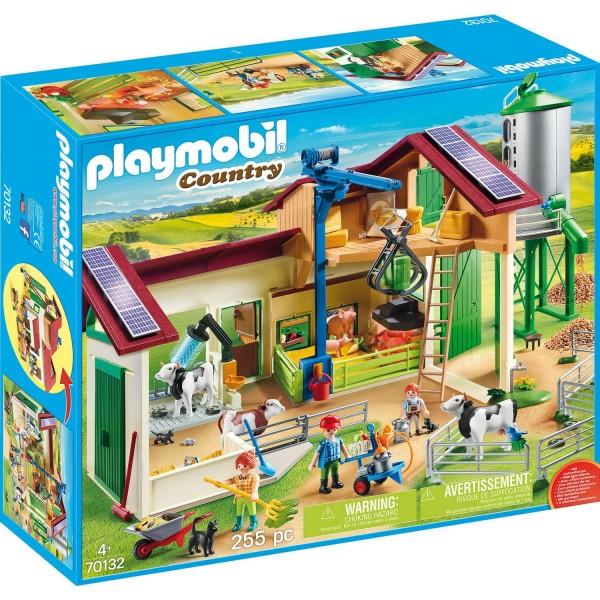 Playmobil 70132 Großer Bauernhof mit Silo