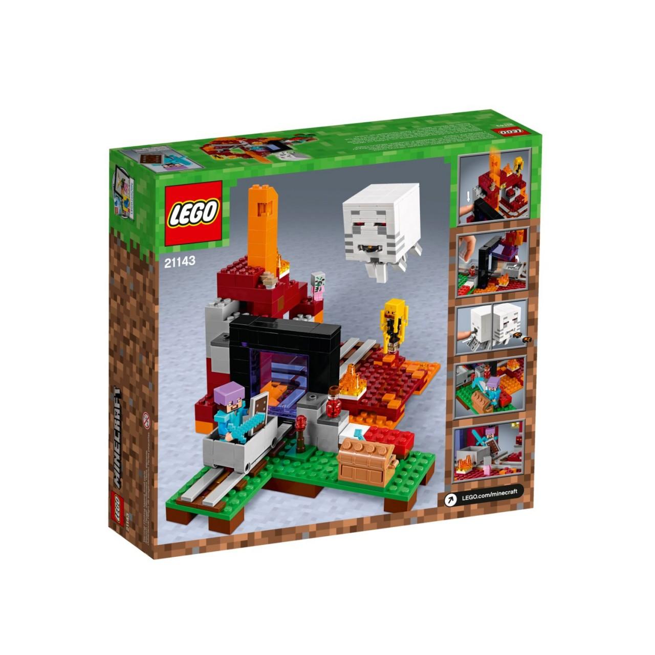 LEGO MINECRAFT 21143 Netherportal