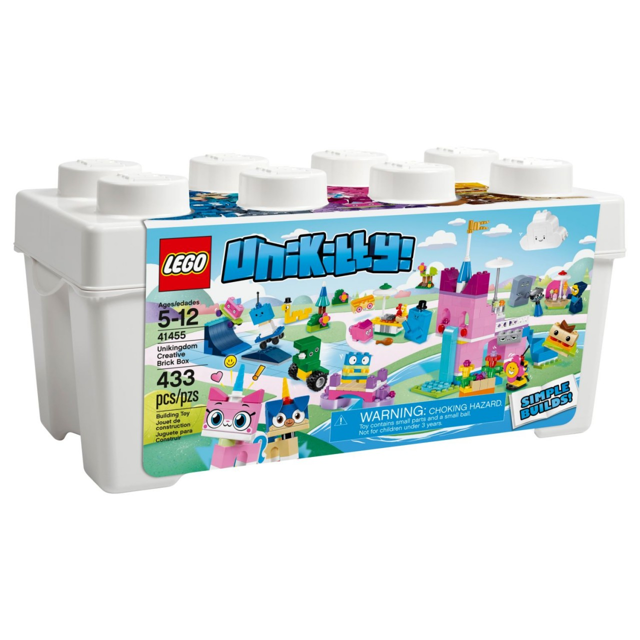 LEGO UNIKITTY! 41455 Einhorn-Kittys Königreich