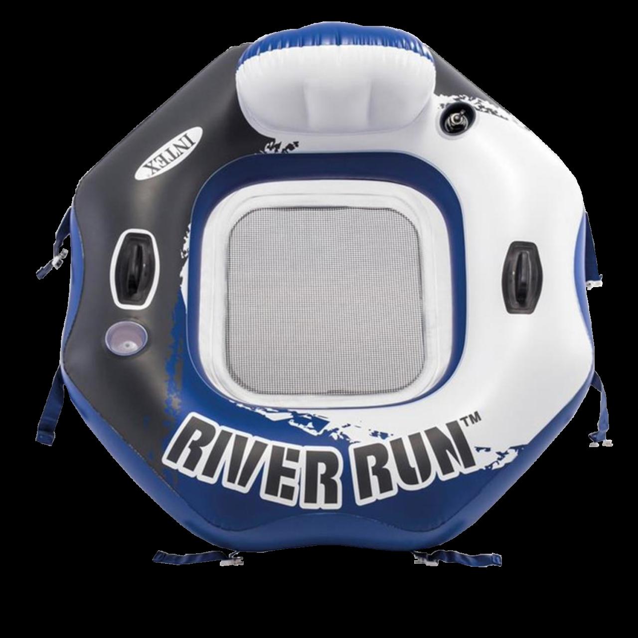 Intex 58854 Sessel RiverRun Luftmatratze Wasserliege Wassermatratze Schwimmliege