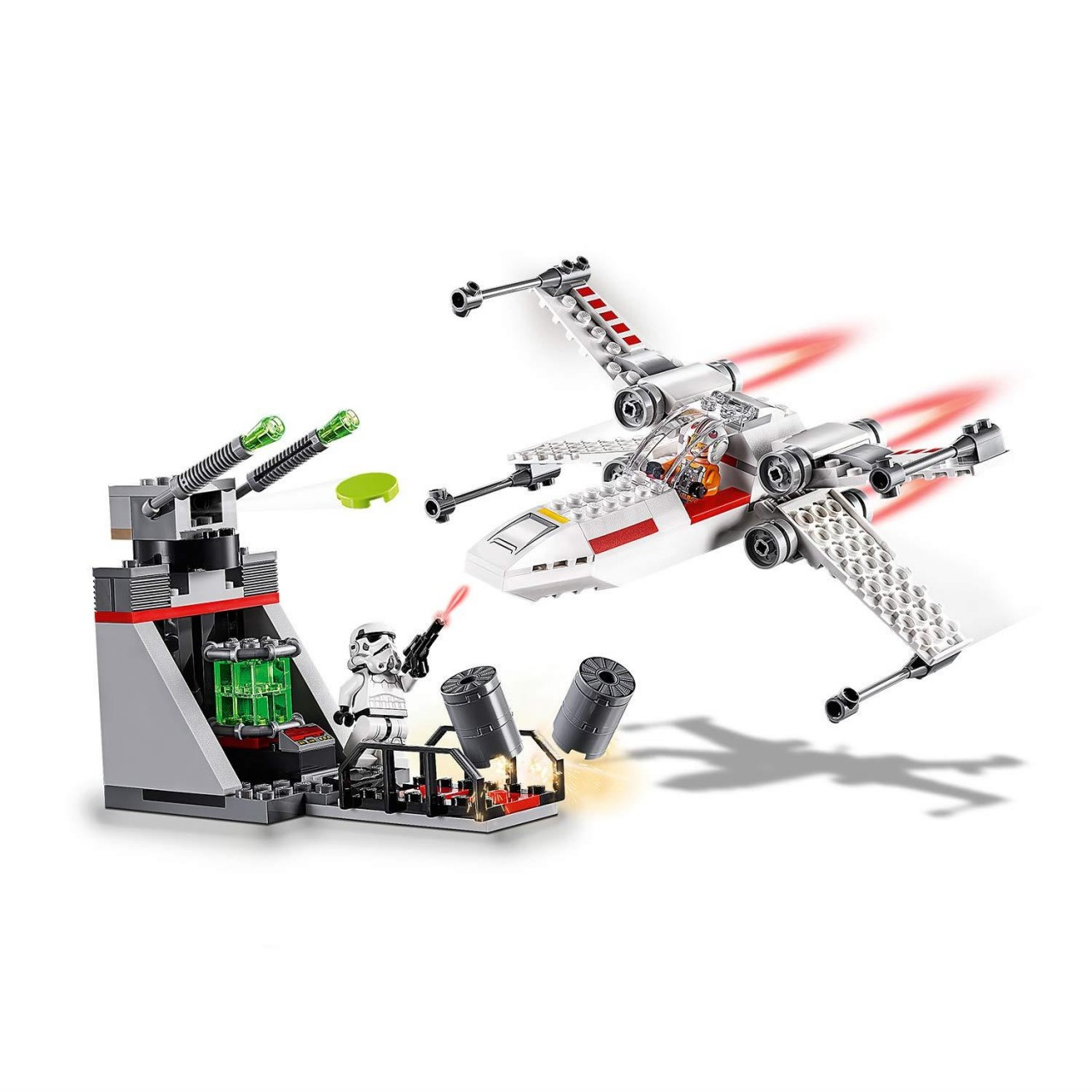 LEGO STAR WARS 75235 X-Wing Starfighter Trench Run