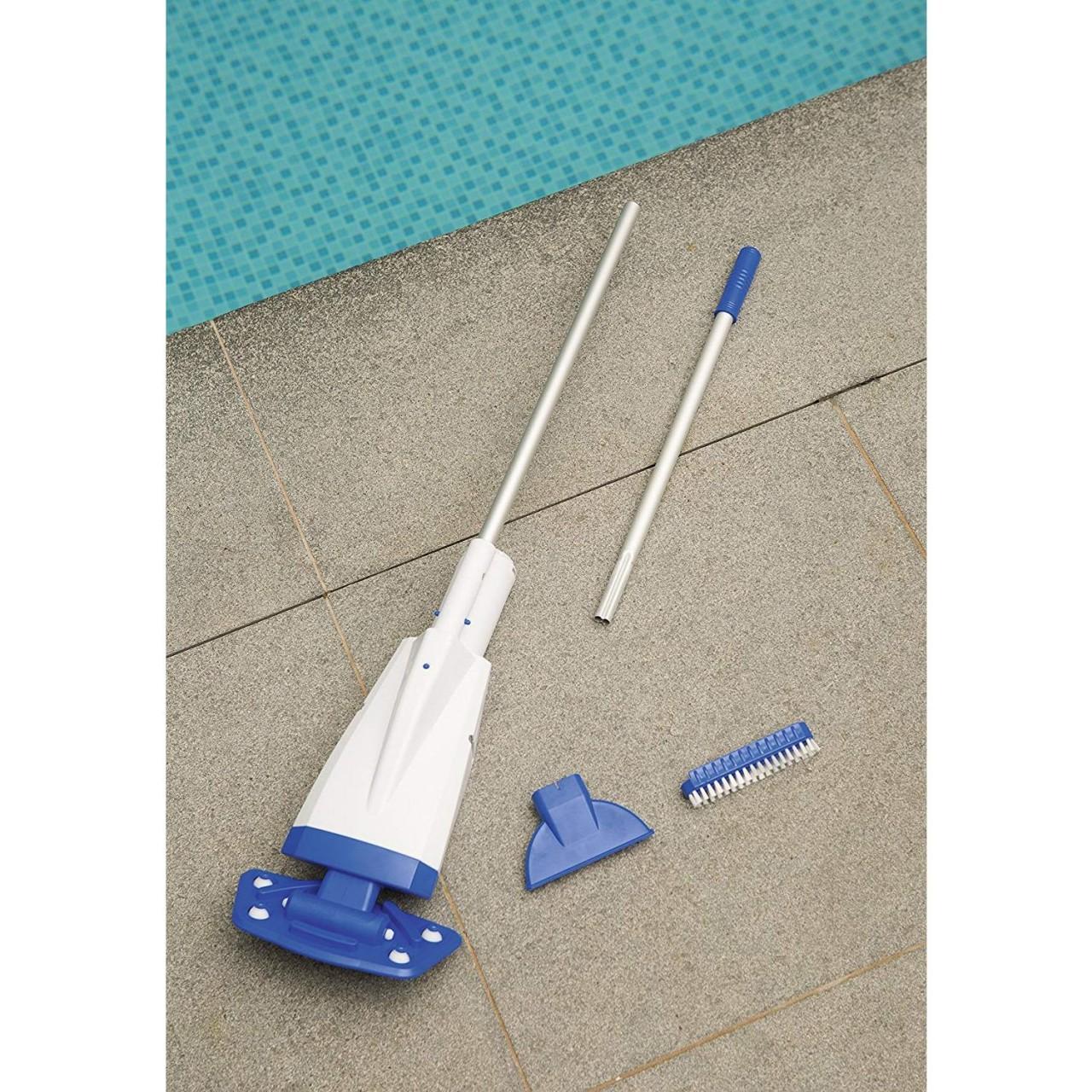 Bestway Flowclear Aqua Powercell akkubetriebener Poolsauger Vakuumsauger 58427