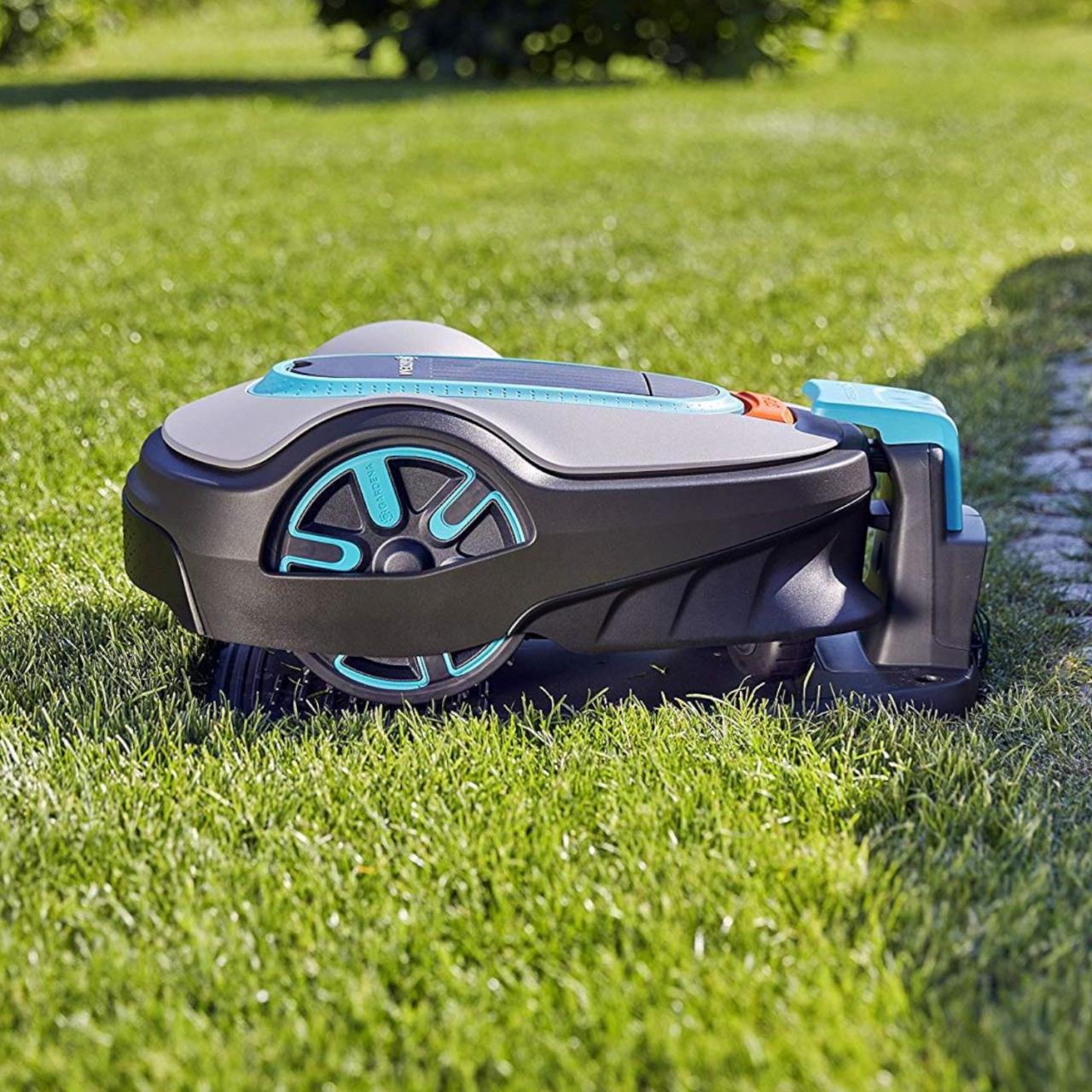 Gardena 15101-20 SILENO life Mähroboter Rasenmäher Roboter bis zu 750m² Garten